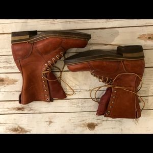 J.H. Y'all Lineman supply boots